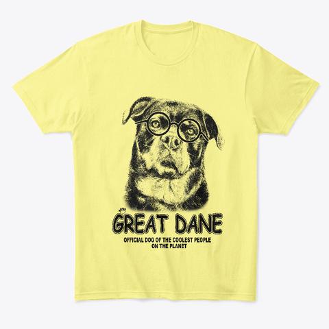 Bunt 01 Lemon Yellow  T-Shirt Front