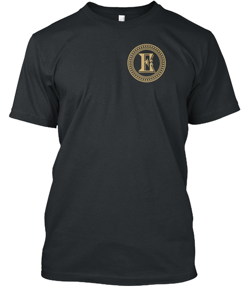 Power Of An Edwards Black T-Shirt Front