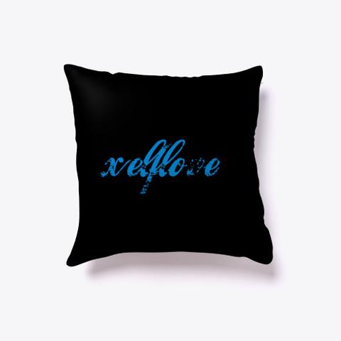 Xelf Love Pillow Black T-Shirt Front