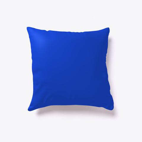 Surf Pillow   I Love My Surf Royal Blue Kaos Back