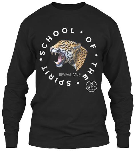 School Of The Spirit R Mke Black T-Shirt Front