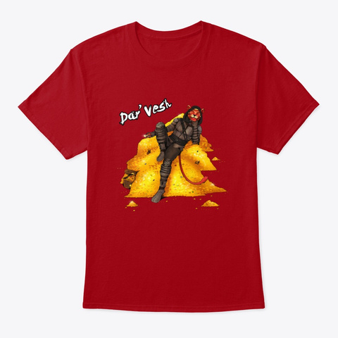 Grohlvana Dar'vesh Shirts & More! Deep Red T-Shirt Front