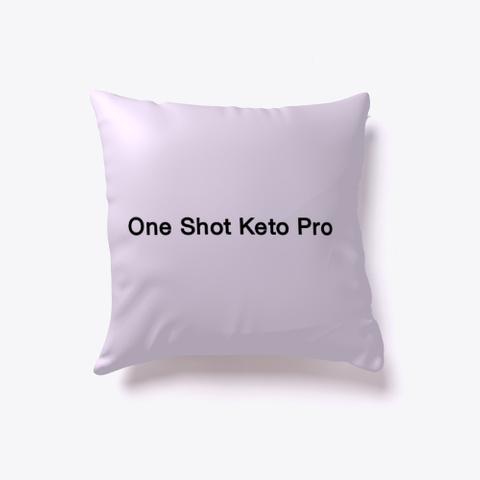 One Shot Keto Pro Reviews Light Purple T-Shirt Front