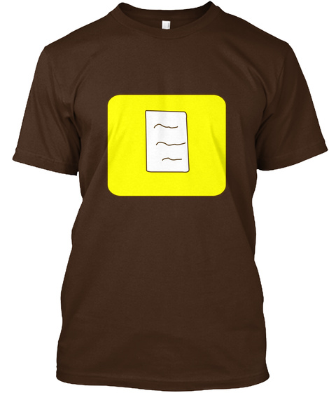 Twinlightenment   Leadership Dark Chocolate T-Shirt Front
