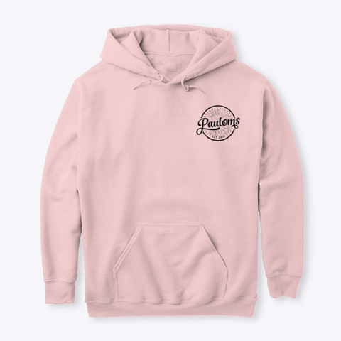 Pauloms Hoddies And Jumpers Light Pink T-Shirt Front
