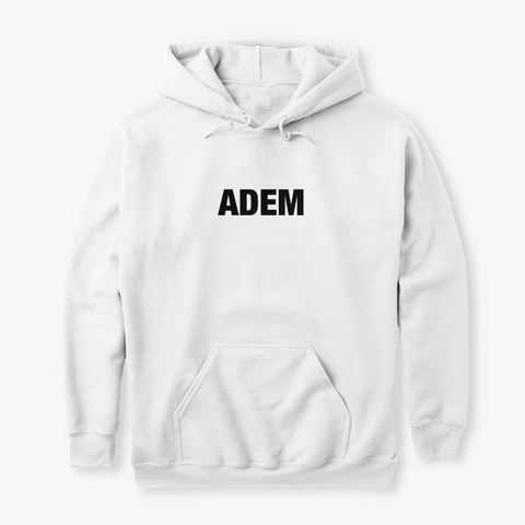 Adem White T-Shirt Front