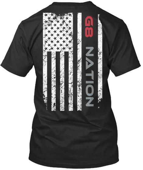 G8 Nation T-Shirt Back