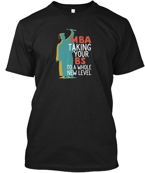 Funny Masters Degree Graduation T Shirt Black T-Shirt Front