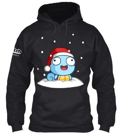 Derpy Winter Black Sweatshirt Front