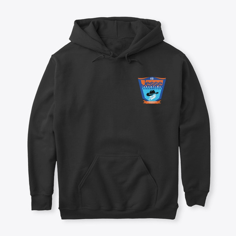 Classic Hoodie *Large Sizes* Black T-Shirt Front