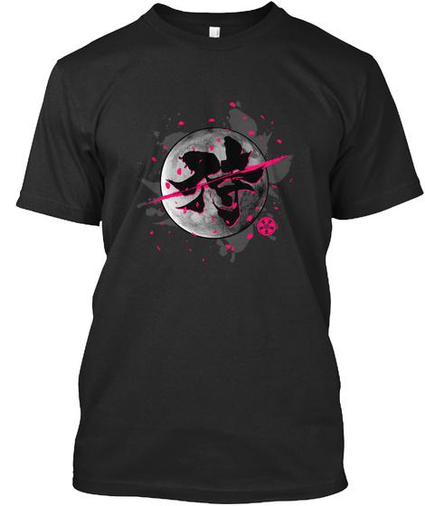Samurai Black T-Shirt Front