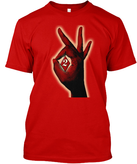 2 Classic Red T-Shirt Front