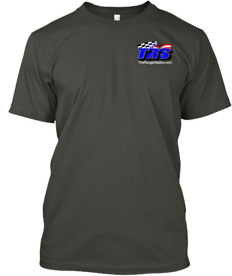 Trs Therangerstation.Com Smoke Gray T-Shirt Front