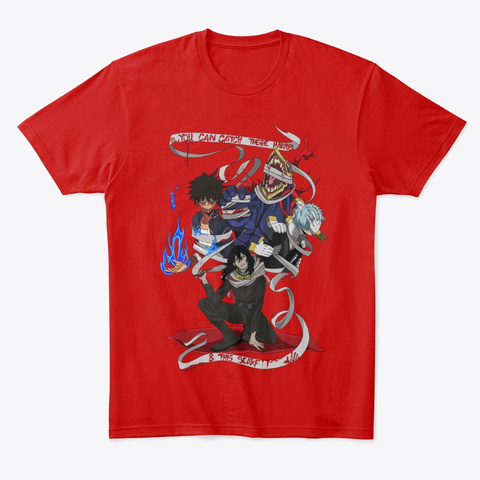 Aizawa    These Hands And This Scarf Classic Red T-Shirt Front