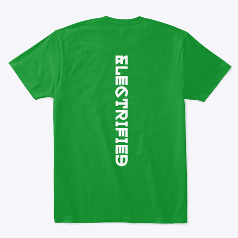 E Mobility In December Ii Kelly Green T-Shirt Back