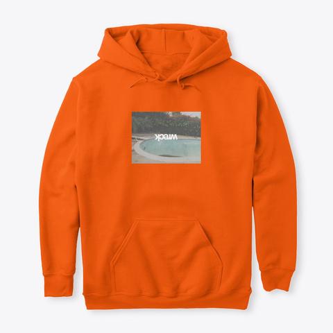 Day Club Safety Orange T-Shirt Front