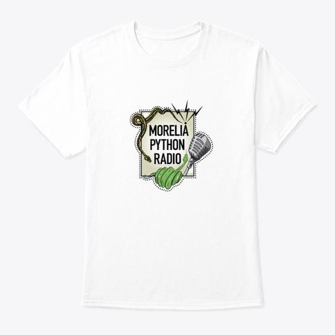 Morelia Python Radio Logo T Shirt White T-Shirt Front