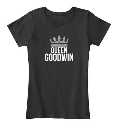 Goodwin Queen Black T-Shirt Front