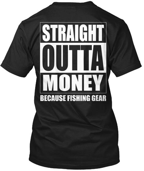 Straight Outta... Black T-Shirt Back