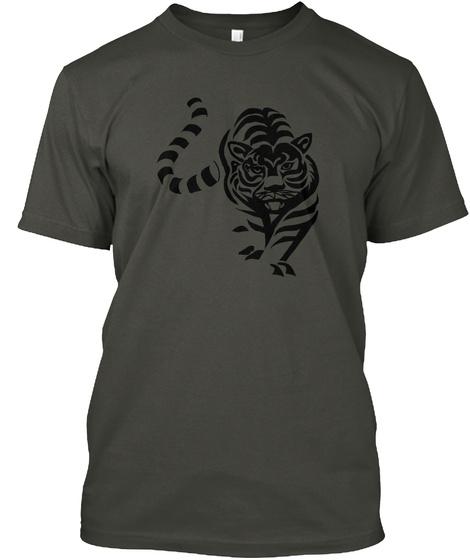 Tiger Smoke Gray T-Shirt Front