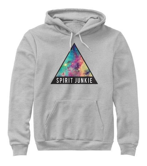Spirit Junkie Athletic Heather Sweatshirt Front