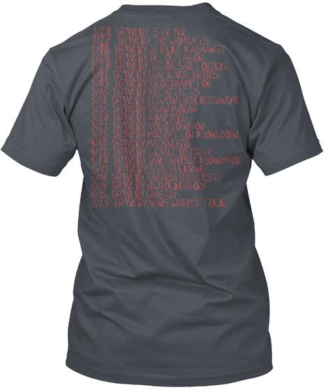 Free The Vagina 2018 Tour Tee Heavy Metal T-Shirt Back