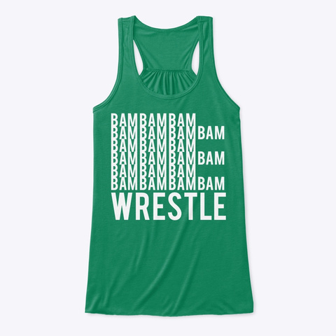 Wrestling Cheer Bam Kelly T-Shirt Front