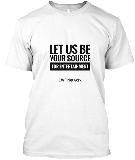 Official Cwf Network Tshirt White T-Shirt Front