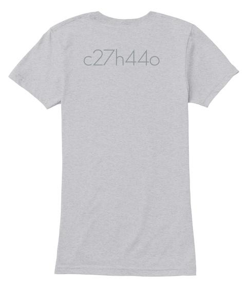 C27h44o Heather Grey Camiseta Back