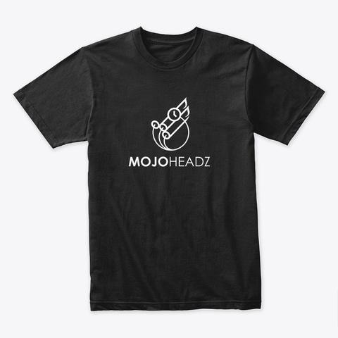 Mojo Headz Records Merch Black T-Shirt Front