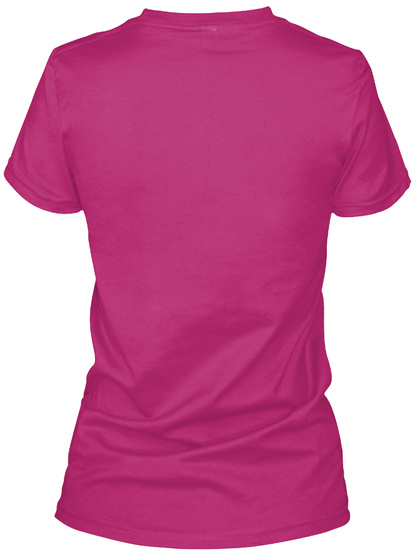 Always Cheer! Berry T-Shirt Back