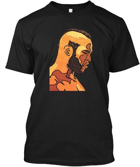 Mister T Black T-Shirt Front