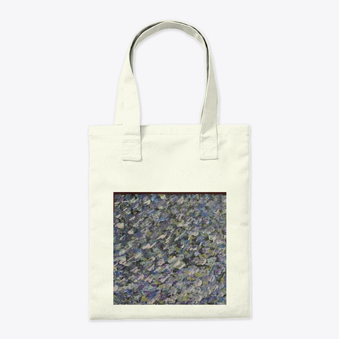 Perfect Tote For Art Lovers Natural T-Shirt Back
