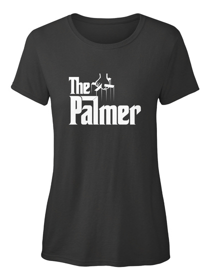 Palmer The Family Tee Black T-Shirt Front