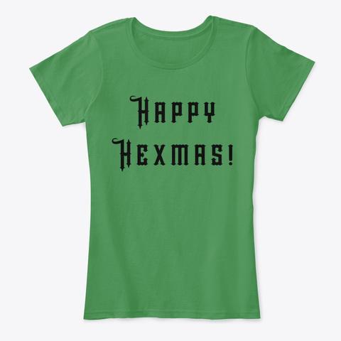 Happy Hexmas! Kelly Green  T-Shirt Front