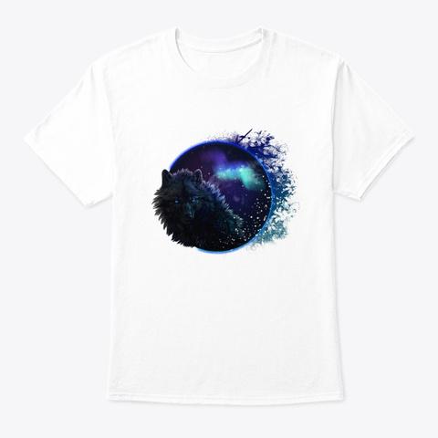 Wolf Shirt White T-Shirt Front