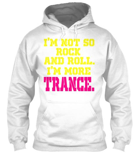 Trance Trance White T-Shirt Front