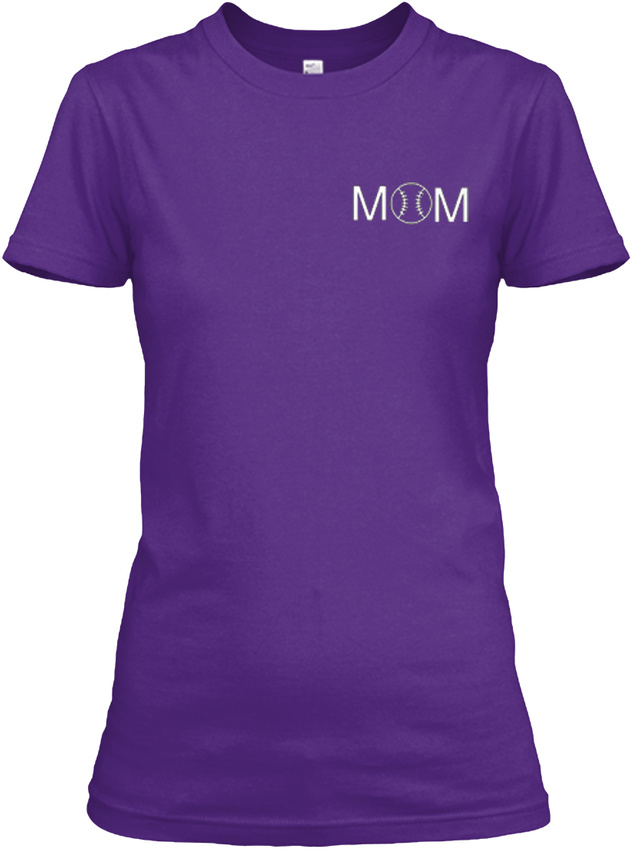 Softball-Mom-Raise-Mine-Some-Women-Only-Dream-Of-Gildan-Women-039-s-Tee-T-Shirt thumbnail 10