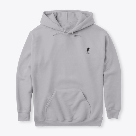 Beach Sunset Sport Grey T-Shirt Front