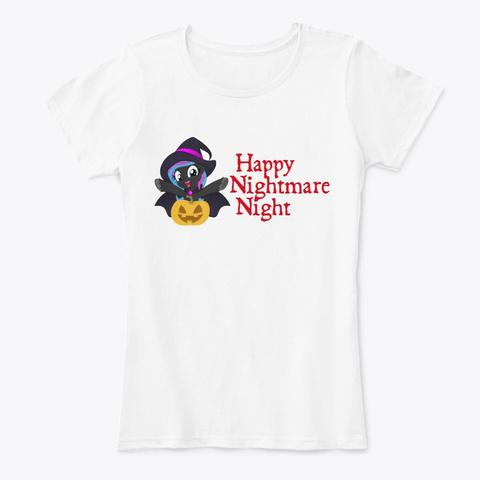 Scribbler   Happy Nightmare Night! White T-Shirt Front