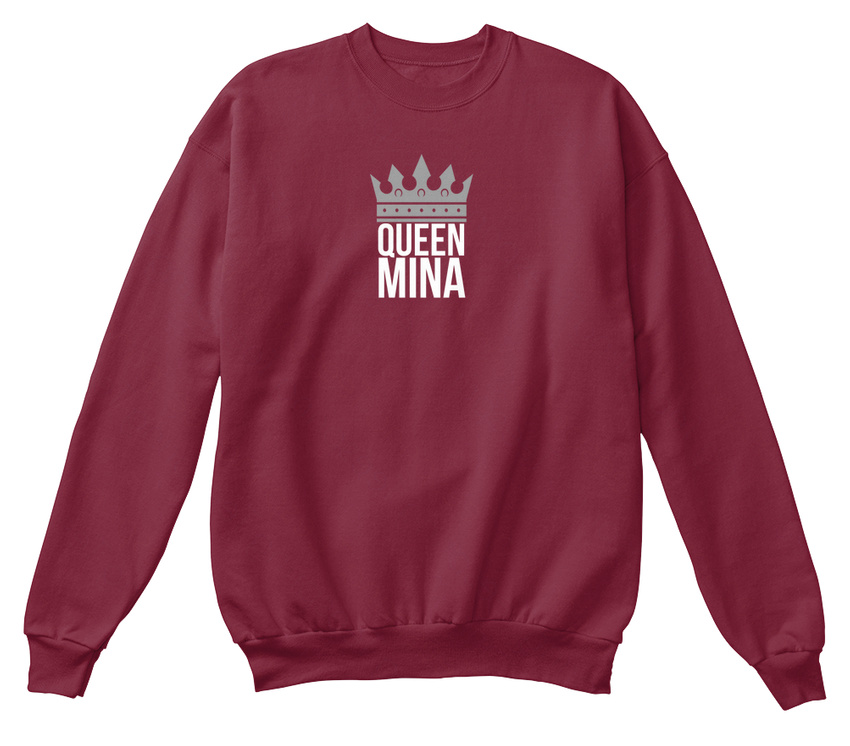 Simply shirt Sweat unisexe Mina standard Queen af07fw