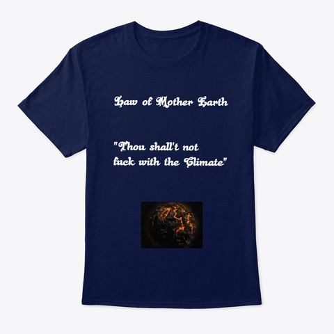 The T Shirt Everyone Should Be Wearing ! Navy T-Shirt Front