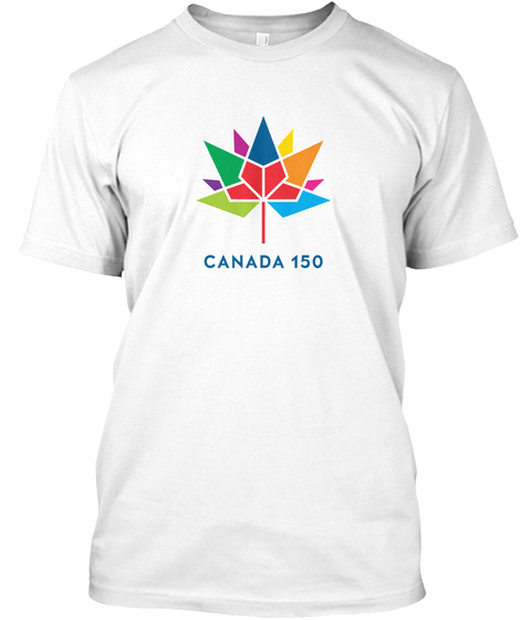Canada 150 Official Logo T Shirt White T-Shirt Front