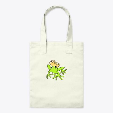Frog King Natural T-Shirt Front