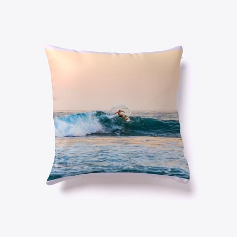 Ride The Wave Surf Pillow Light Purple T-Shirt Front