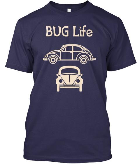 Bug Life Navy T-Shirt Front
