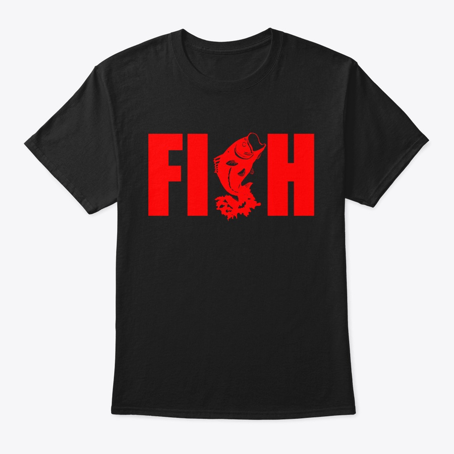 Bass Fishing Unisex Tshirt