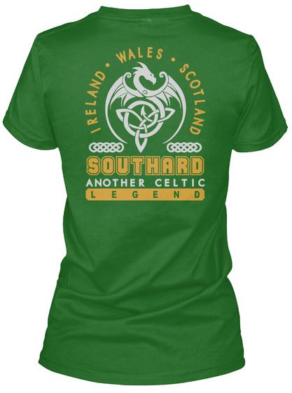Southard Another Celtic Thing Shirts Irish Green T-Shirt Back