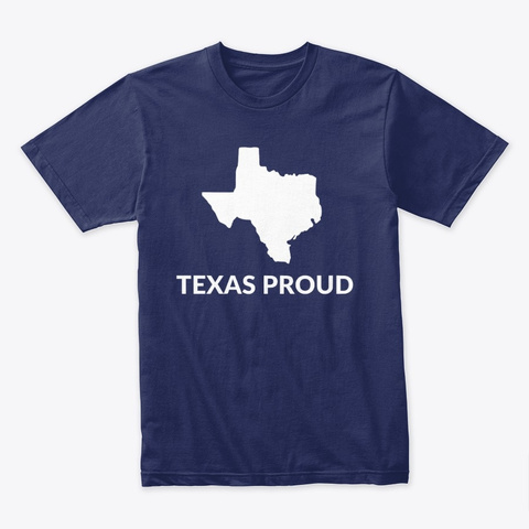 Tx Proud Midnight Navy T-Shirt Front