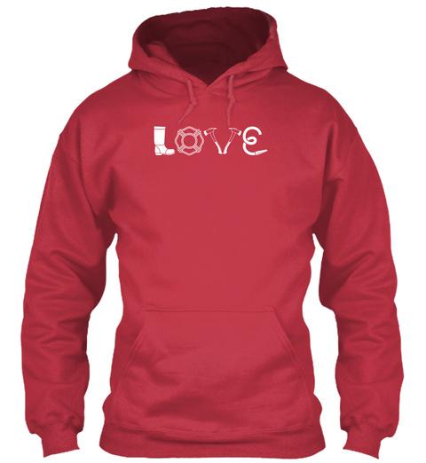 Love Cardinal Red T-Shirt Front